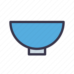 bowl, broth, dish, dishware, food, liquid icon