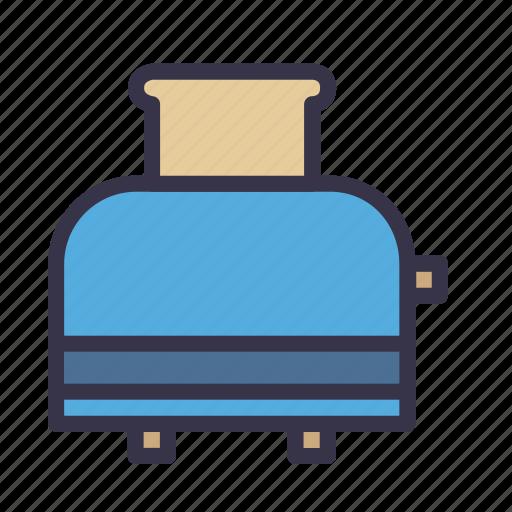 appliance, equipment, kitchen, kitchenware, sandwich, toaster, tool icon