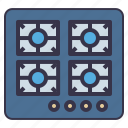 appliance, cooking, kitchen, range, stove, tool icon