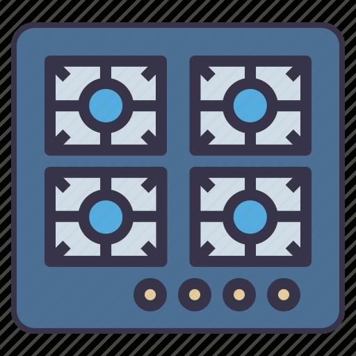 appliance, cooking, kitchen, range, stove, tool icon