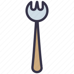 appliance, cook, cooking, fork, kitchen, spoon, tool icon
