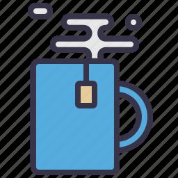 coffee, equipment, kitchen, mug, shaker, tea, tool icon