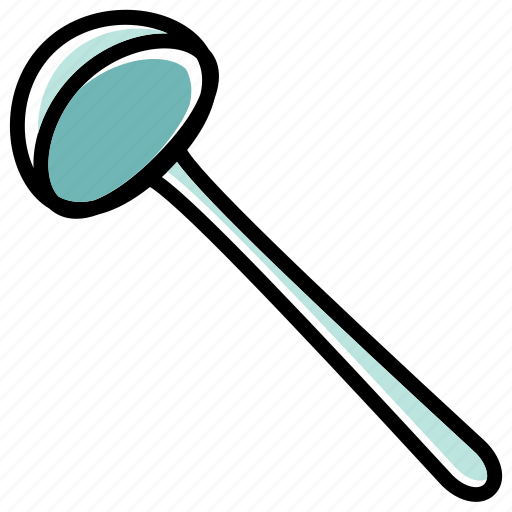 bowl, cooking tool, dipper, ladle, utensils icon