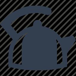 boil, kettle, kitchen, tea, tools, utencils, water icon