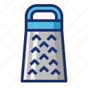 cooking, food, grate, grater, kiitchen icon