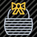 bag, bakery, basket, bread, kitchen utensils, vart icon