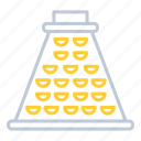 food grater, grater, kitchen utensils, shredder icon