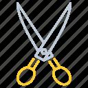 kitchen, kitchen utensils, restaurant, shears, utensil icon