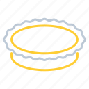 pie, plate, toll, tool icon