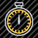 clock, kitchen utensils, schedule, stopwatch, timer icon