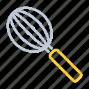 blender, kitchen utensils, mixer, whisk icon