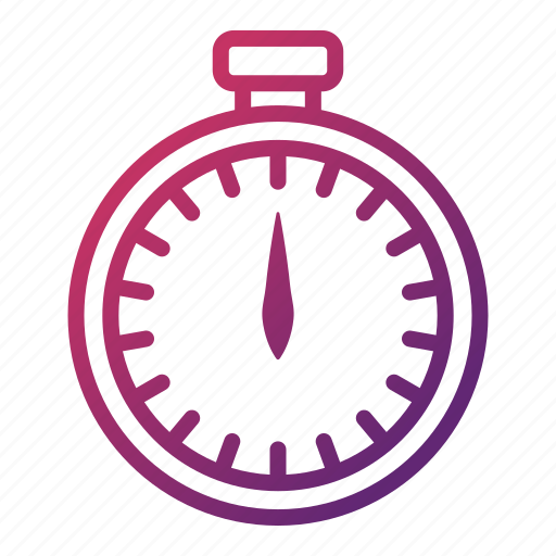 kitchen utensils, schedule, stopwatch, timer icon