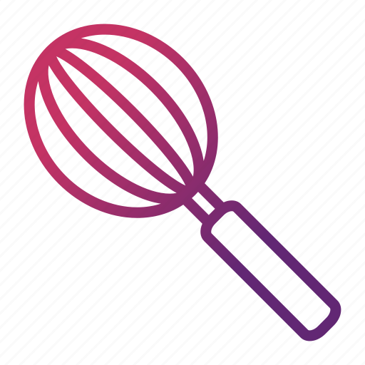 cook, cooking, kitchen utensils, whisk icon