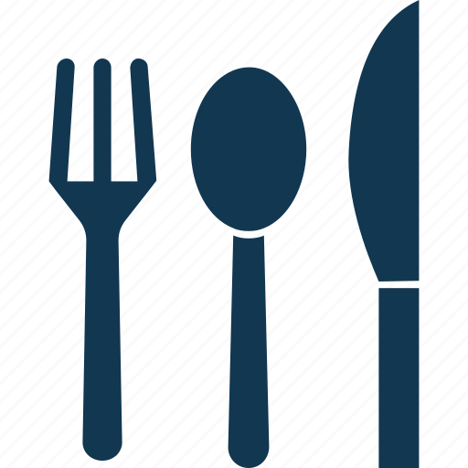 Cutlery, fork, knife, spoon, utensils icon - Download on Iconfinder