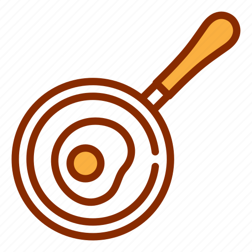 egg, fried, frying pan, kitchen, pan, saucepan, tools icon