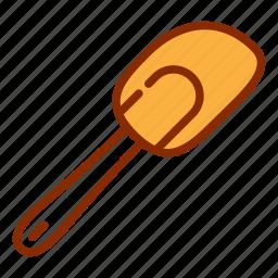 dipper, kitchen, silicon, spatula, tools icon