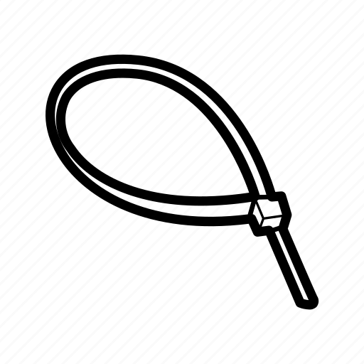 Zip tie icon - Download on Iconfinder on Iconfinder
