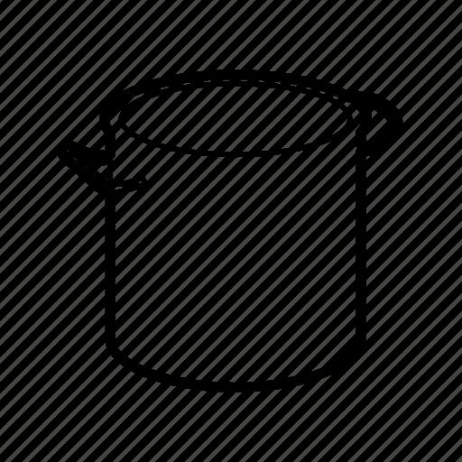 cooking pot, pan, pot, soup icon