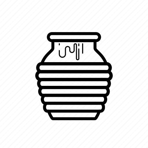 honey, jar icon