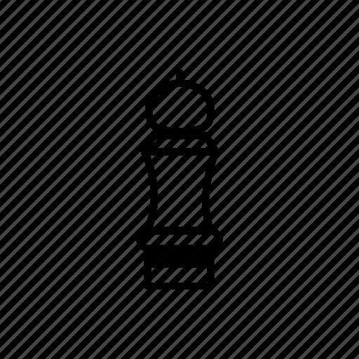 grinder, pepper, pepper grinder icon