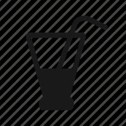 empty, glass icon