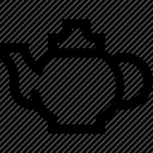 drink, food, herb, hot, pot, tea icon