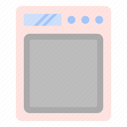 bake, cook, digital, kitchen, scale icon