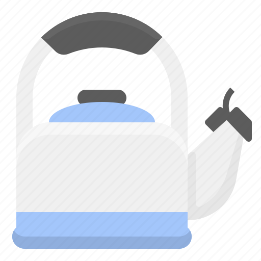 coffee, hot, kettle, kitchen, water icon