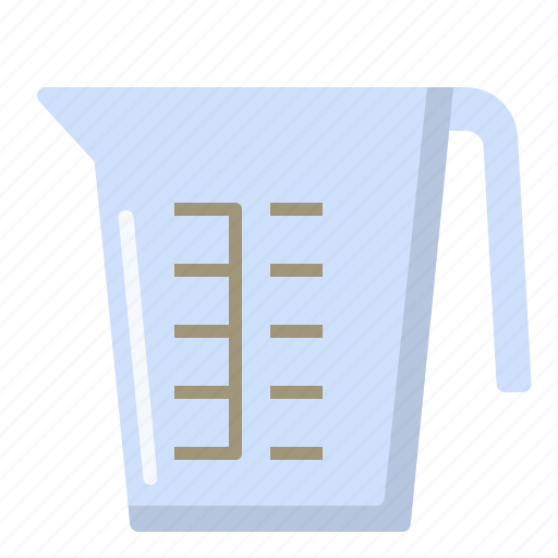 cooking, cup, kitchen, measuring, scale icon