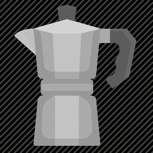 boil, coffee, drink, moka, pot icon