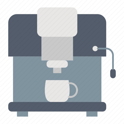 coffee, kitchenware, machine, maker icon