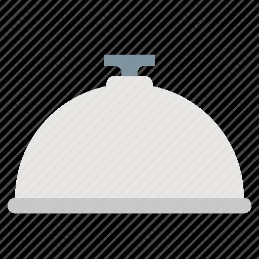 dish, dome, food, kitchen, restaurant icon