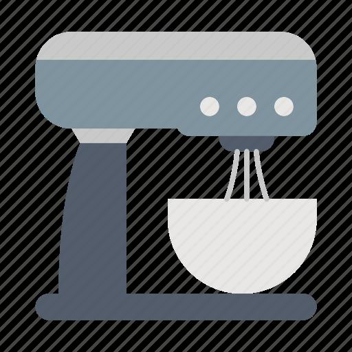 kitchen, mixer, standkitchenware icon