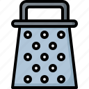 appliances, cheese, cooking, food, grater, kitchen, kitchenware icon
