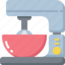 appliances, cooking, flour, food, kitchen, kitchenware, mixer