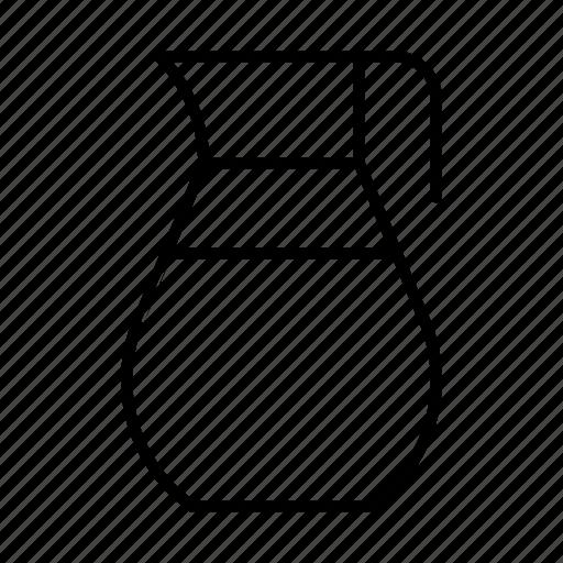 carafe, jug, pitcher, water, wine icon