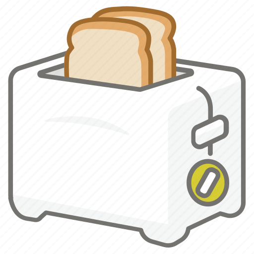 appliance, electric, kitchen, maker, toast, toaster icon