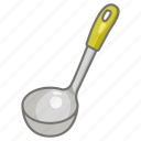 kitchen, ladle, serving, soup, spoon, utensil icon