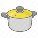 cook, cooking, kitchen, pan, pot, sauce, saucepan icon