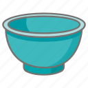 bowl, food, kitchen, kitchenware, mixing, vessel icon
