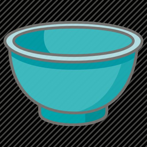 bowl, food, kitchen, kitchenware, mixing, vessel icon