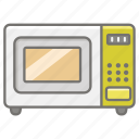 appliance, cooking, kitchen, microwave, oven, reheat icon