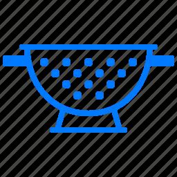 colander, cook, cooking, kitchen, utensil icon