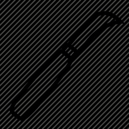 blade, dagger, hunting, jackknife, kitchen, knife, weapon icon