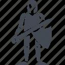 knight and war, armor, knight, shield, sword
