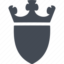 knight and war, protect, security, shield icon