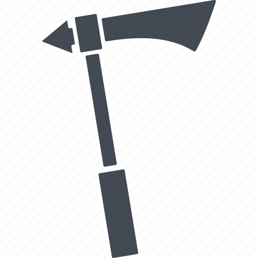 ax, hatchet, knight and war, weapon icon
