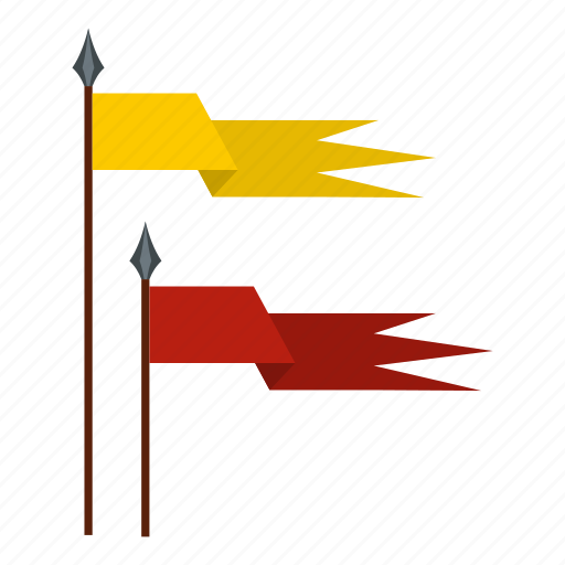 ancient, banner, dragon, flag, historical, medieval, old icon