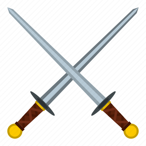 ancient, historical, knight, medieval, old, sword, warrior icon