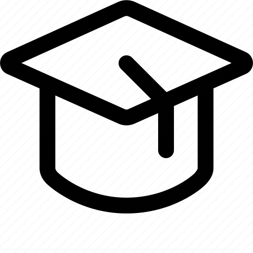 cap, degree, education, graduate, graduation, graduation cap icon
